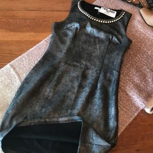 NWT Python Beaded Dress Size Small